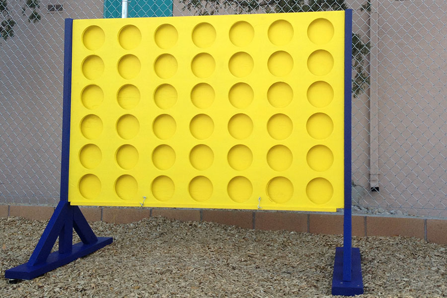 Life-Sized Connect Four 1