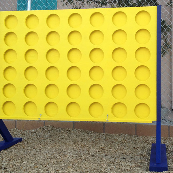 How to Build a Life-Sized Connect Four