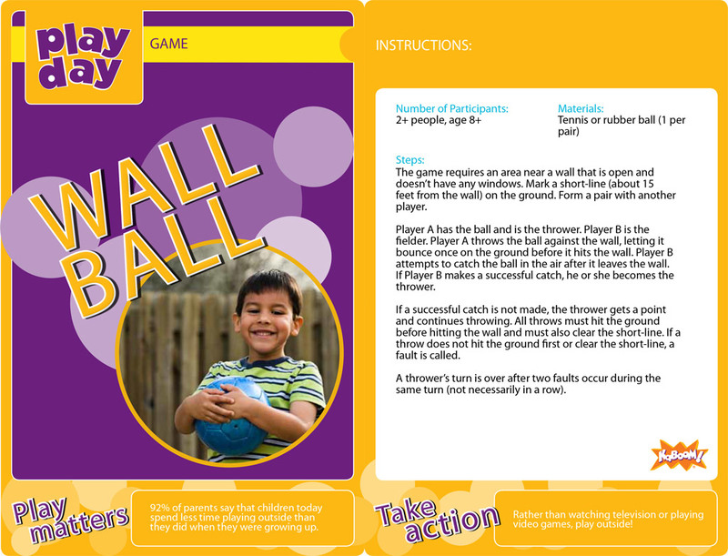 Wall Ball Information Card
