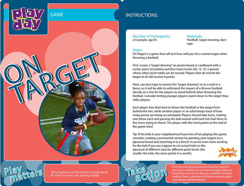 On Target Information Card